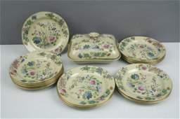 335: A set of twenty mid 19th century Wedgwood plates a