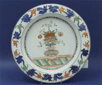 417 A Chinese porcelain charger Kang Hsi period 14i