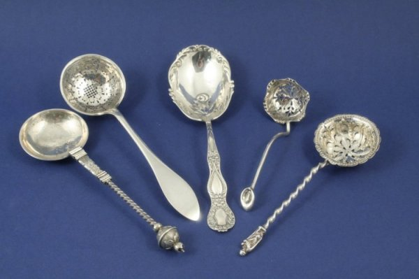 1292: A Continental 830 standard silver spoon, another
