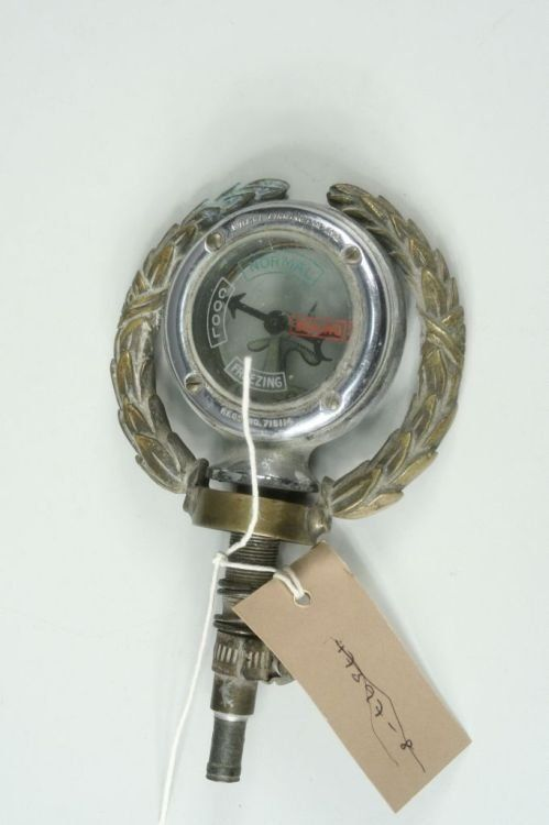 29: A chromium plated 1930's 'calormeter',