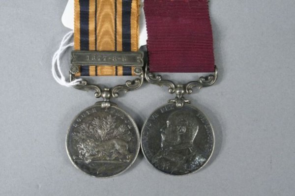 1402: A Victorian South Africa medal & LSGC