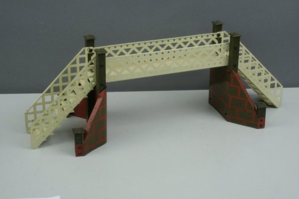 21: A rare early Hornby Series footbridge, professional