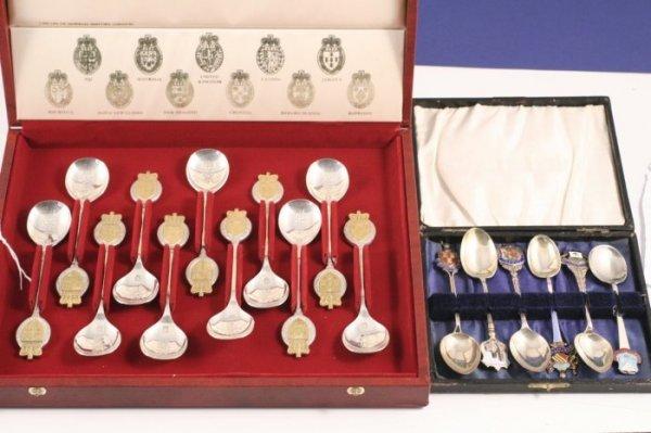1008: A cased set of eleven Queen Elizabeth II silver a