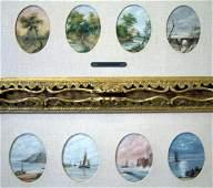 1513 English School  oil on board  Four Seasons  Ti
