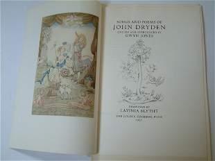 DRYDEN (J), Songs and Poems of John Dryden,