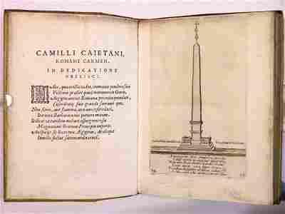 1296: GALESINUS (PETRUS), OBELISCUS VATICANUS SIXTI V P