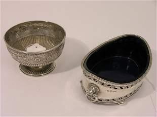 A William IV silver pedestal bowl,