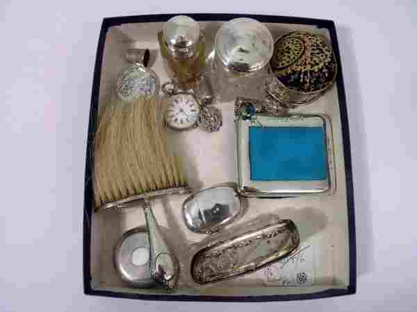 A Victorian silver cased pocket watch,