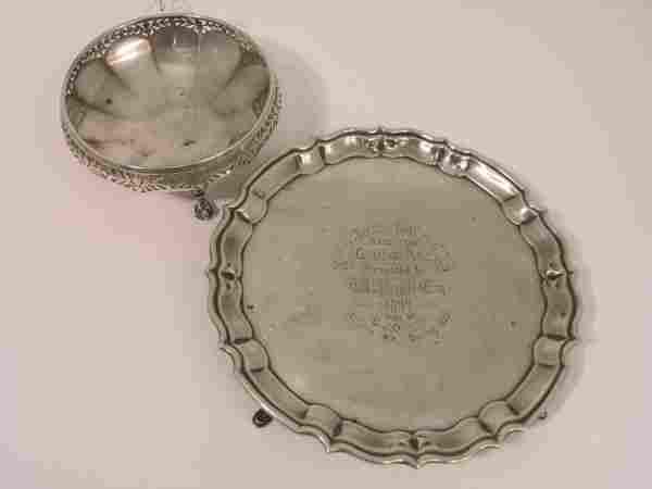 A George V silver 'Brighton Challenge' golf troph