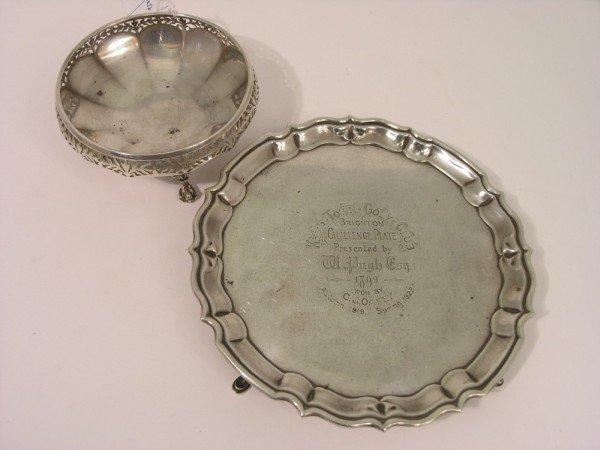 1353: A George V silver 'Brighton Challenge' golf troph