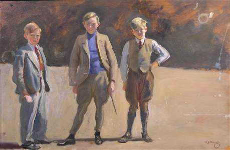 1985: Sir Alfred James Munnings (1878-1959) The Delaney