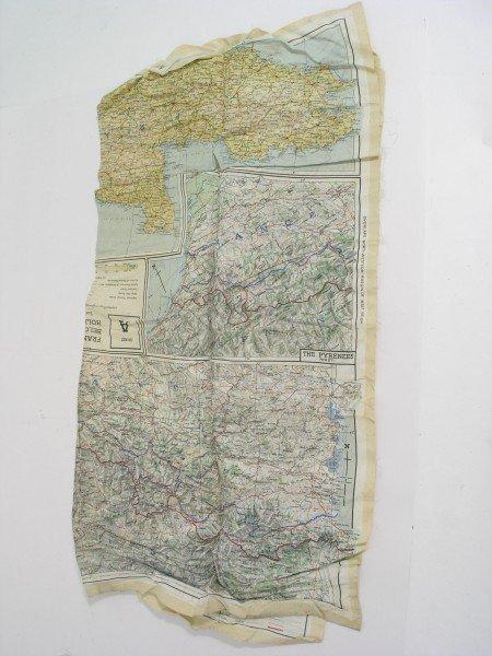 185A: A second World War silk road map, 27ins