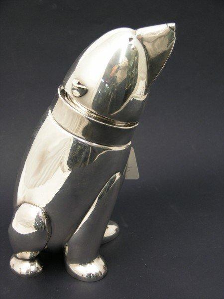 1510: An Austrian Art Deco design silver plated 'Polar