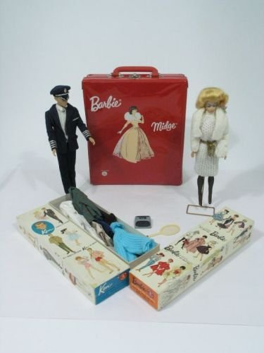 15: Barbie, by Mattel, near-excellent condition