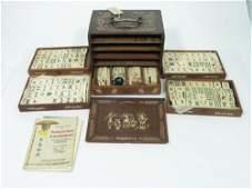 82 An early 20th century Chinese Mah Jong set