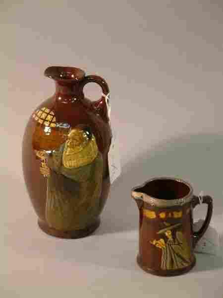 497: A Royal Doulton Kingsware Whisky flagon - Alchemis