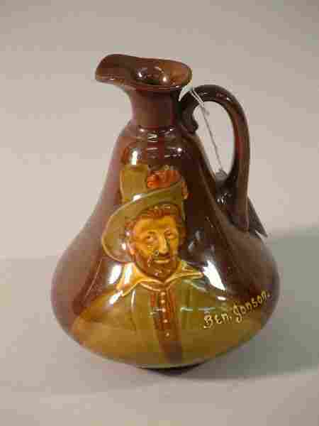 499: A Royal Doulton Kingsware Dewars Whisky flagon - B