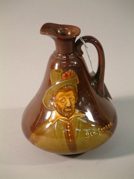 499: A Royal Doulton Kingsware Dewars Whisky flagon - B