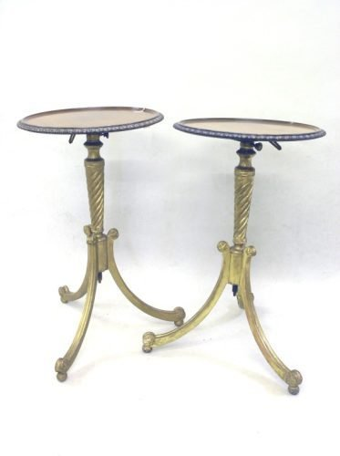 612: A pair occasional tables