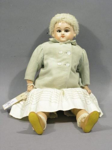 20: A composition doll, 16in.