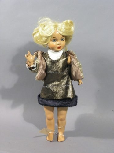 18: A German composition doll, 'Lily', 18in.