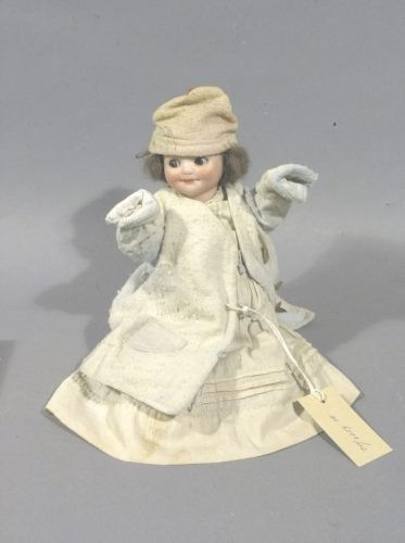 19: An Armand Marseille 'googly-eyed' doll, 10in.