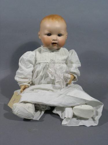 7: A large Armand Marseille My Dream Baby doll, 23in.