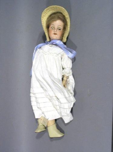 1: An Heubach, Koppelsdorf bisque doll, 25in.