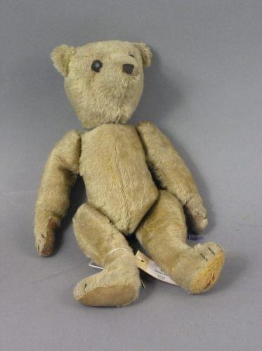 14: A mohair Teddy bear, 14in.
