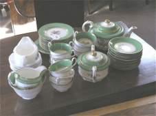 366 A Victorian bone china tea service 41 pieces
