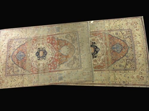 853: A pair of Isfahan Central Persian rugs