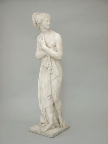 17E: After the Antique - a marble statue, Pandora