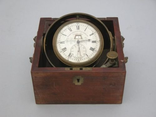 745E: An eight-day marine chronometer, mid-19th century