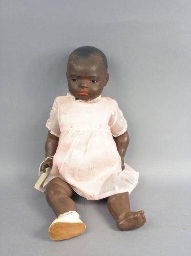 5: A Heubach mulatto doll, 21in.