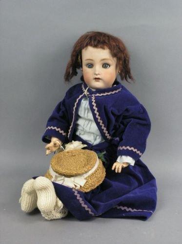 9: A Simon & Halbig / Kammer & Reinhardt bisque doll, 2