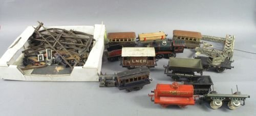 20: Toy trains, as catalogued