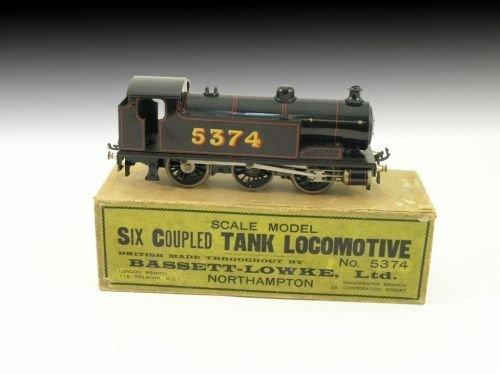23: A Bassett-Lowke 'Six-Coupled Tank Locomotive', No.