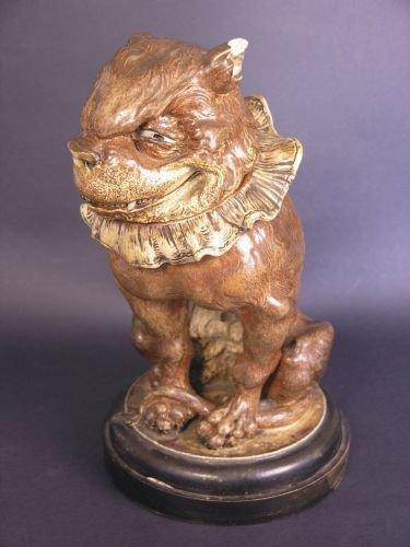 840: A fine Martin Brothers stoneware model, 'Toby', da