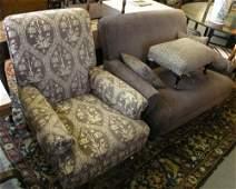 1260A: A Multiyork boudoir two seater settee, armchair