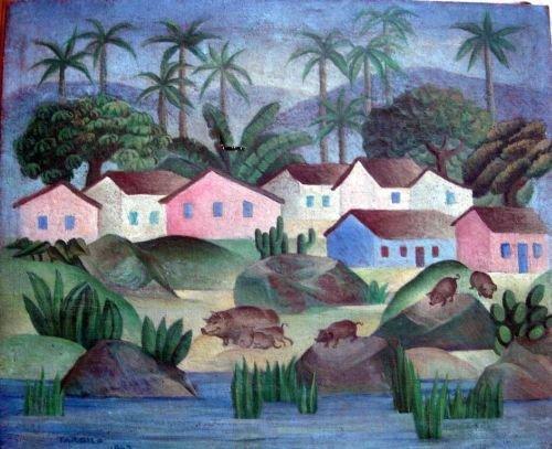 2037: Attributed to Tarsila Amaral (1886-1973) Brazilia