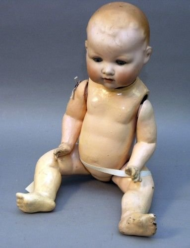 1: A large Armand Marseille 'My Dream Baby', 23in.