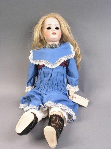 10: A Heubach, Koppelsdorf bisque doll, 24in. - eyes lo