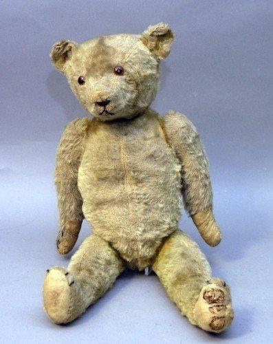 14: An English Teddy bear, 20in.