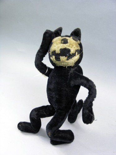 15: A soft toy 'Felix the Cat', 15.5in.