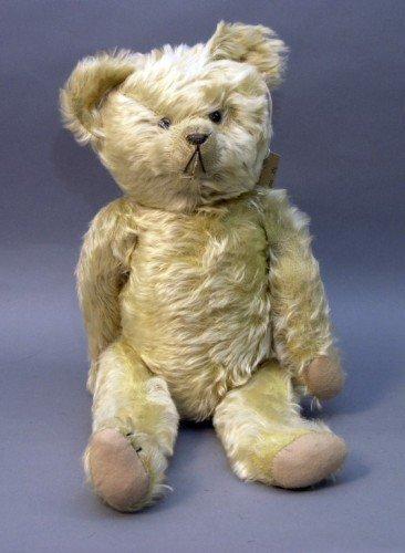 18: An English Teddy bear, 23in.