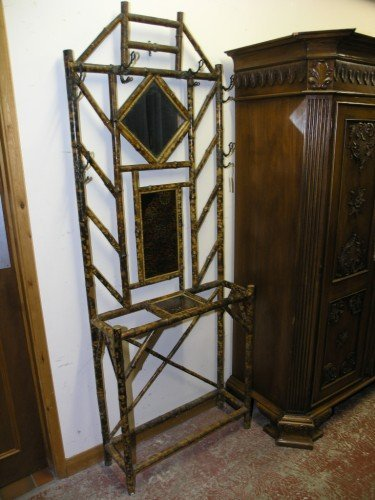 1080: A Victorian bamboo hall stand,