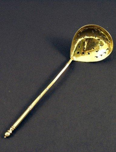 1650: A 19th century Russian 84 zolotnik silver gilt si