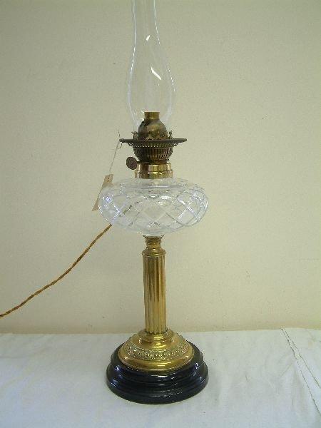 207F: A Victorian oil lamp,