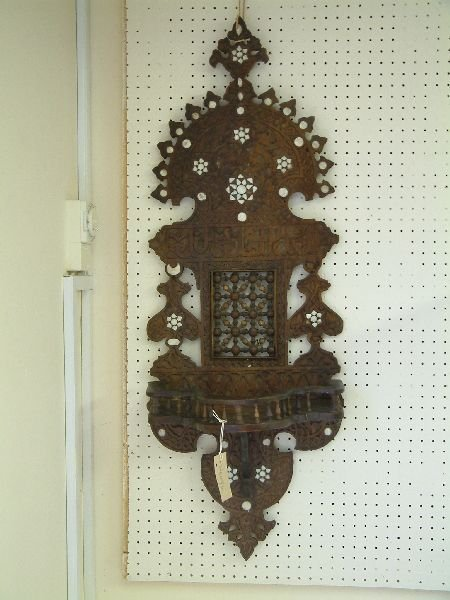 209F: A north African turban stand, 3ft. 2in.
