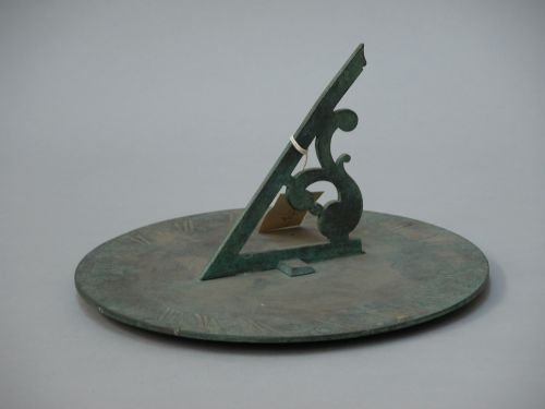 13E: A bronze sundial